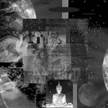 hypno alien astro budda - (c) milford grindstaff 2001